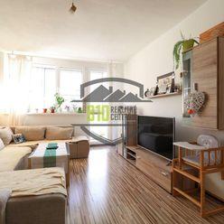 Rezervované - NÁDHERNÉ VÝHĽADY  ,   3 izbový byt , Martin - Sever
