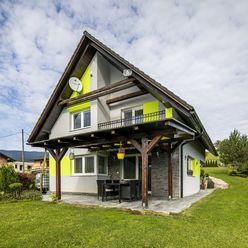 Novostavba rodinného domu vo Veličnej - časť Revišné