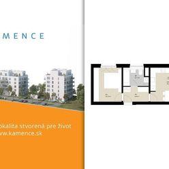 Byt 2+kk s balkónom - NOVOSTAVBA (D5.6)