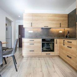 REZERVOVANÉ!Na predaj krásny veľký 1izbový byt po kompl.rekonš.BNB, 45m2