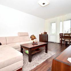 3i byt, 74 m2 – BA-Karlova Ves: zariadený, veľká loggia, TOP lokalita, PROVÍZIU NEPLATÍTE!
