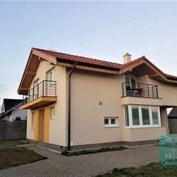SENEC - NA PREDAJ nový 5 izbový rodinný dom v atraktívnej lokalite - ul. Okružná v Senci