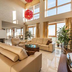 Na predaj luxusný mezonetový byt 222 m² s 46 m² terasami a 100% súkromím