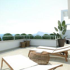 Terasovité luxusné apartmány s výhľadom na more v Altea, Costa Blanca