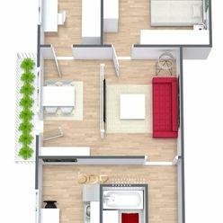Rezervované - BpV ponúka 3 izbový byt vo vyhľadávanej lokalite v Ilave