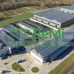 Na prenájom hala (sklad, výroba) 4800 m2 Vlkanová