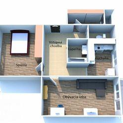 BEDES | Slušný 2.5 izbový byt po čiastočnej rekonštrukcii