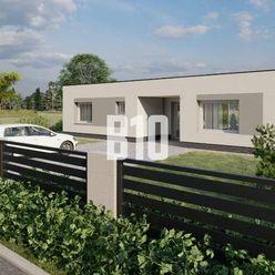 Novostavba krásneho 4 izbového bungalovu v obci Trenčianske Jastrabie