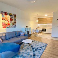 Na prenájom zariadený  2-izbový byt s balkónom a parkovaním v Malackách