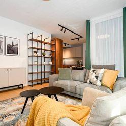 Štýlový 3-izbový byt na Dunajskej ulici