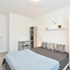 3D a VIDEO: 2-izbový byt v novostavbe s balkónom, pivnicou a parkovacím miestom na Klokočine v Nitre