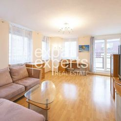 REZERVOVANÉ Slnečný 3i byt, 94m2, zariadený s balkónmi, parkovanie