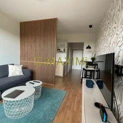 Novostavba Slnečnice - predaj moderne zariadeného 1 izb. klimatizovaného bytu