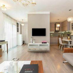 Prenájom kompletne zariadeného 3-izb.bytu s 2 parkovacími státiami v komplexe Vinohradis - Koliba