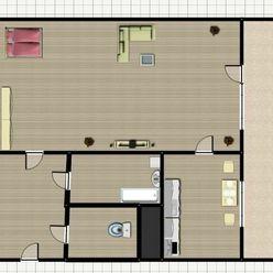 1-izb. byt, Landauova, Dúbravka, lodžia, 2 p./8