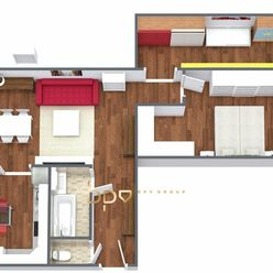 BpV ponúka na predaj 3 izb. byt po kompletnej rekonštrukcii v centre Novej Dubnice