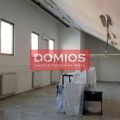 Prenájom polyf. priestorov (205,92 m2, 1. p., výťah, kuch., WC, parking)