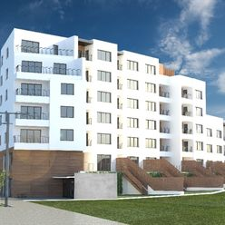2 izbový apartmán (2kk) s predzáhradkou, Bytový dom Sabinovská, Prešov (A1)