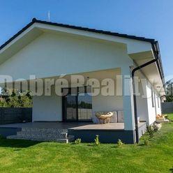Novostavba - štvorizbový bungalov v obci Jasová na predaj !
