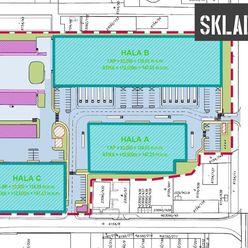 Moderné logistické priestory na prenájom- Bratislava/ Modern logistics halls for lease- Bratislava