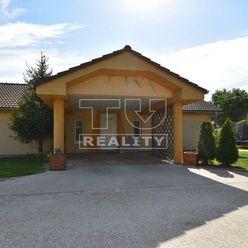 EXKLUZÍVNE IBA U NÁS! Na predaj 3.izbový  rodinný dom v obci Nedanovce, 476 m2