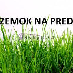 Na predaj stavebný pozemok v obci Záborie