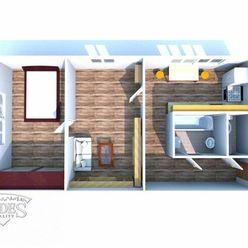 BEDES |2-izbový byt vpôvodnom stave, Bystričany