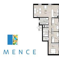 4-izbový byt s predzáhradkou - ihneď dostupný!