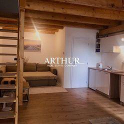 ARTHUR - Bývajte ako ''na chate'' - 2-izbový mezonet v blízkosti malého Dunaja