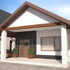 Rozostavaná novostavba 3i-bungalovu v Šenkviciach