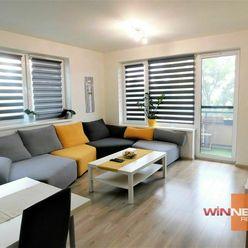 Prenájom zariadeného 2 izbového bytu s veľkým balkónom a parkovacím krytým státím v Dun. Lužnej
