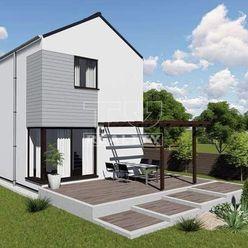 Exkluzívne  4 izbový dvojpodlažný rodinný dom s úžitkovou plochou 90m2 - 16km od Martina