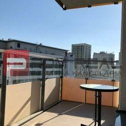 Prenájom 2 izb svetlého bytu v komplexe City Park Ružinov s parkovaním
