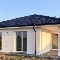 Novostavba 4 izbového samostatného bungalovu v štandarde s veľkorysým pozemkom 684 m2.Kuchynská link
