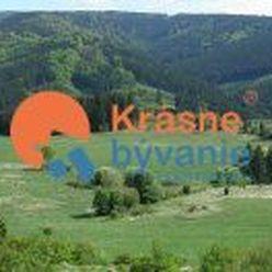 Na predaj rekreačný pozemok Čremošné, Turčianske Teplice