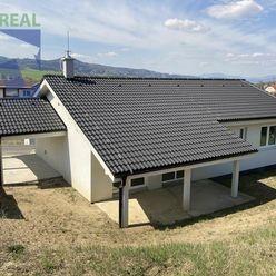 BV REAL Na predaj novostavba nízkoenergetický bungalov 461 m2 Ráztočno FM1176