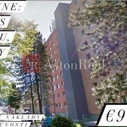 EXKLUZÍVNA PONUKA: 3-izbový byt s balkónom vo Vrútkach, 69m2 + pivnica