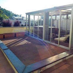 Prenájom:Nadštandardný, štýlový 2i-byt (75m2)s terasou(76m2) s garážou(17m2) v Líščom údolí!!