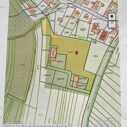 Stavebné pozemky s rozhodnutím o výstavbe rodinných domov.