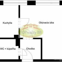 Byt 1 izbový byt, ppôvodný stav, B. Bystrica, Fončorda – Cena 81 000€