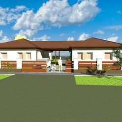 Na predaj novostavba rodinných domov v príjemnom mestečku Dunakiliti
