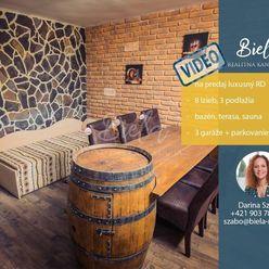 Na predaj luxusný 8 izb. RD s bazénom, 3 x garáž, Šaľa + vidoobhliadka