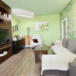 Predaj 2-izbový byt s priestrannou loggiou, kompletne zariadený, Podunajské Biskupice