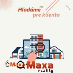 Hľadáme pre klientov rodinný dom v okolí Prievidze