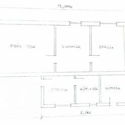 Ponúkame Vám na predaj 2 izbový rodinný dom, 392 m2, Prievidza - Štvrte