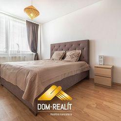 Dom-realít ponúka krásny, plne zariadený 2i byt v novostavbe Solar, Budatínska ulica