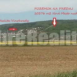 Pozemok TTP 10376 m2, Nové Mesto nad Váhom.
