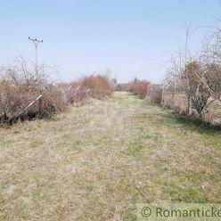 Stavebný a rekreačný pozemok 12,6 árový pozemok v okrajovej časti Chorvátskeho Grobu, 12 km od Brati