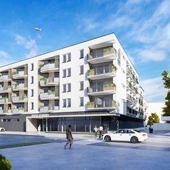 Na predaj LUXUSNÝ - priestranný 2,5 izbový byt, 72 m2 - novostavba GRADUS RESIDENCE, centrum mesta D