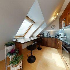 3D virtuálna prehliadka, Velký, 1-izbový byt, Trnavská ul., Modra- Kráľová